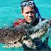 Animal Planet y presentador Jeff Corwin de visita en Sosúa