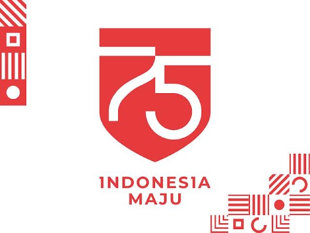Logo HUT RI Ke-75 Tahun 2020