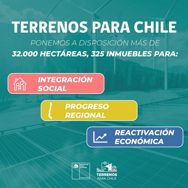 Terrenos para Chile