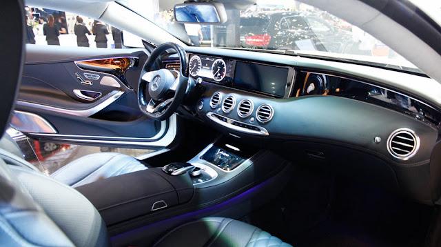 Nội thất Mercedes S500 4MATIC Coupe thiết kế sang trọng, đẳng cấp