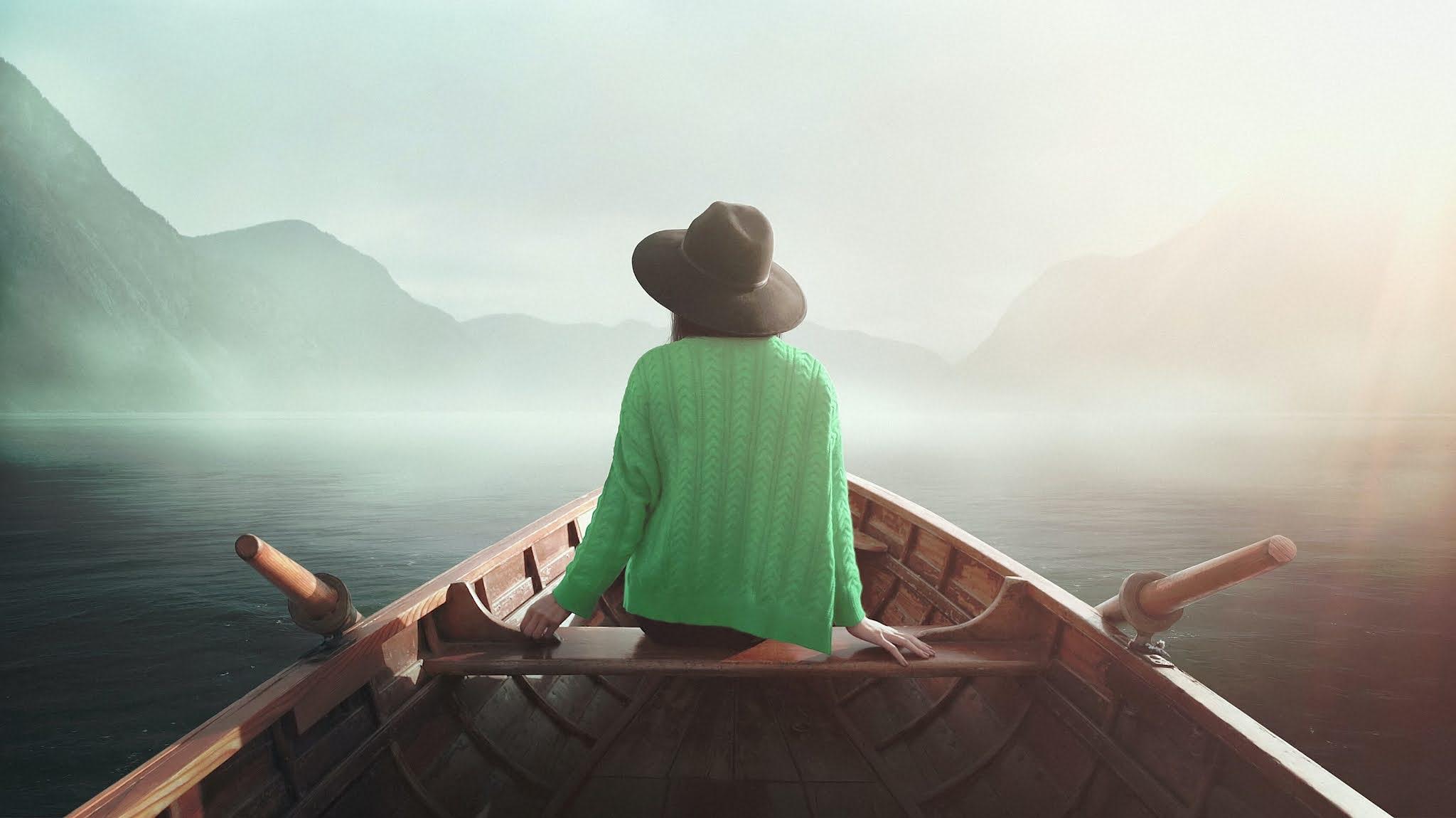 Girl, On journey