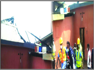 cultists set house fire bariga lagos