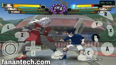 تحميل لعبة  ناروتو نينجا تايسن Naruto Ninja Taisen 4 للاندرويد على محاكي Dolphin بحجم صغير ورابط مباشر