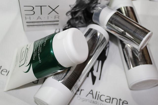 Tratamiento cabello botox.