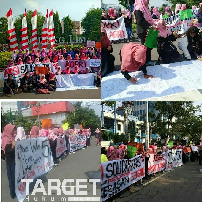 KOPRI Komisariat UIN Walisongo Semarang Mengadakan Aksi Solidaritas Untuk Bu Nuril