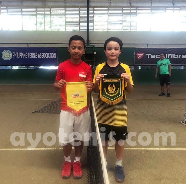 Skuad Tenis Garuda Muda Ganyang Malaysia