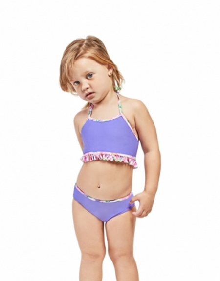 Bikinis para bebas moda verano 2018.