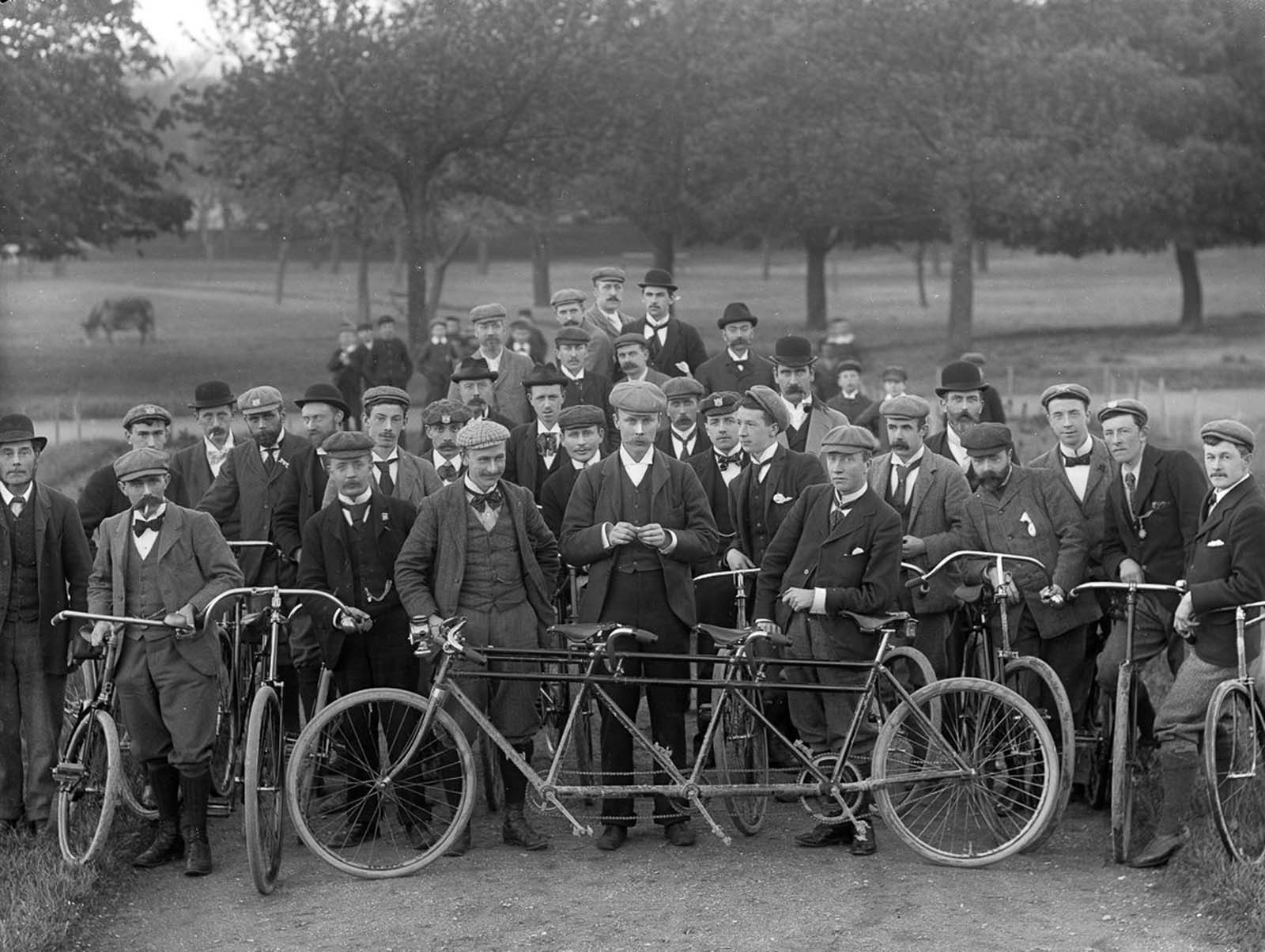 The Waterford Bicycle Club. 1897.