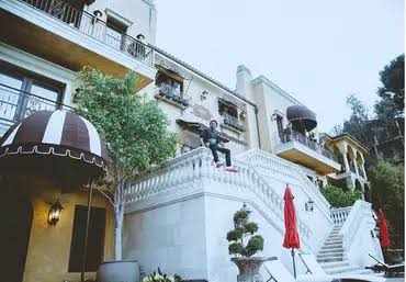 Wizkid mansion in Los Angeles