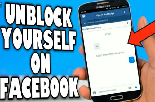 Unblock On Facebook
