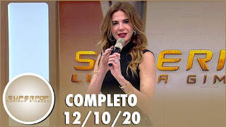 confronto entre Sikêra Jr. e o Jornal Nacional – Superpop com Batoré completo (12/10/20)