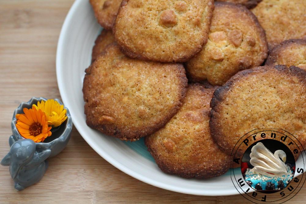 Cookies vanille chocolat aux noix de macadamia