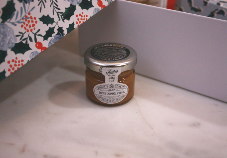 My Little Box December Christmas Edition Salted Caramel Spread