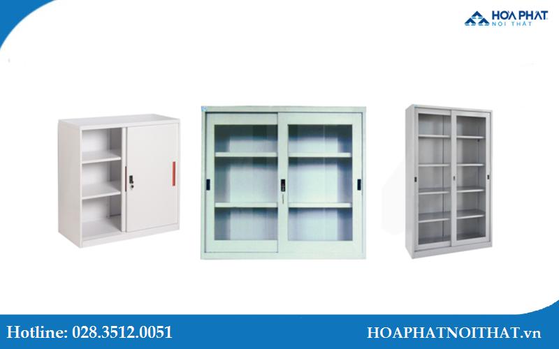 Top 3 mẫu tủ sắt cánh lùa Hòa Phát với thiết kế hiện đại