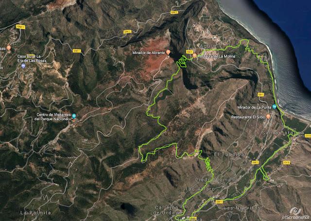 Teneriffa - La Gomera 2017/8. Wanderung von Hermigua nach Agulo