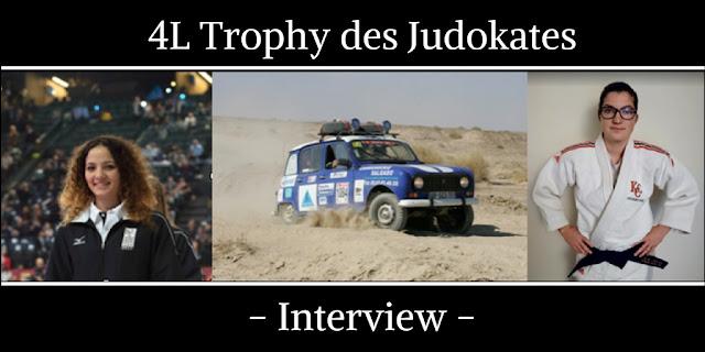 4L Trophy des judokates - Interview - Cestquoitonkim - Judo