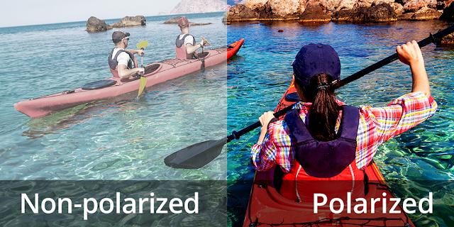 polarized vs non polarized
