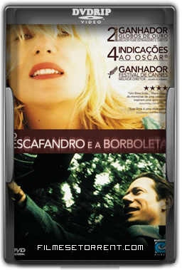 O Escafandro e a Borboleta Torrent DVDRip Dublado 2007