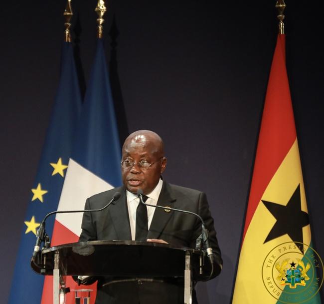 We've Corrected Mahama's Mess, Says President Akufo-Addo.