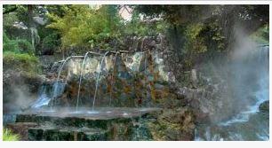 Tempat wisata alam permandian air panas