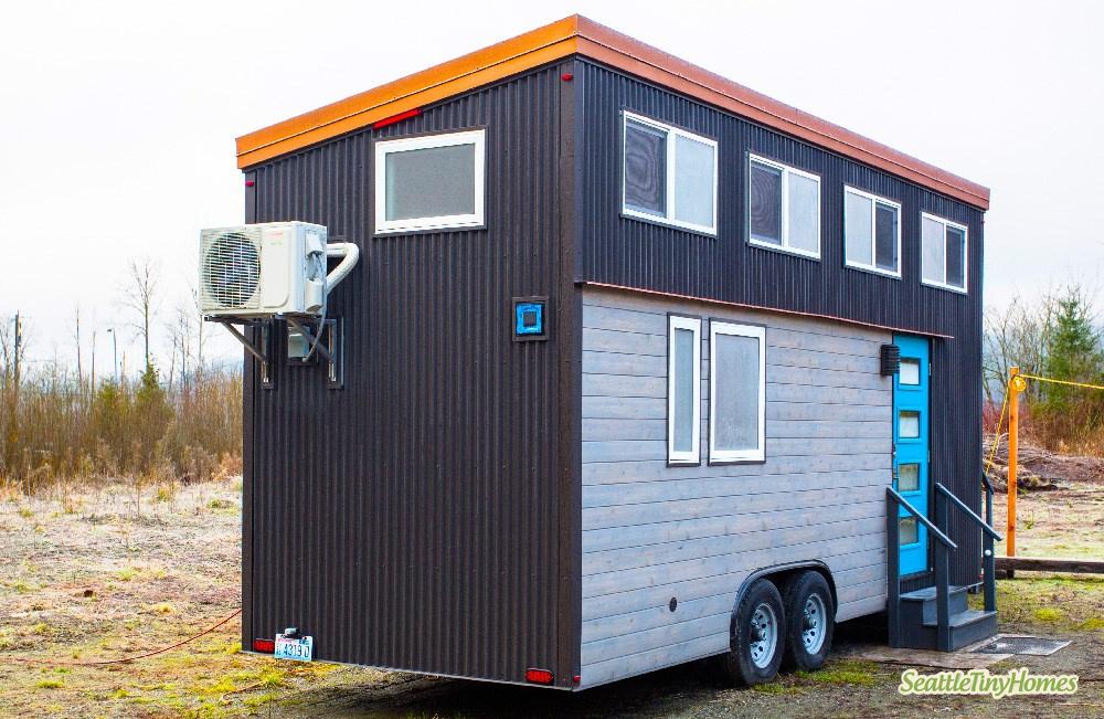 Tiny Home Designs: TINY HOUSE TOWN: Alki Enhanced Tiny House (275 Sq Ft