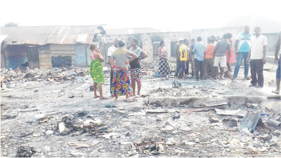 Aftermath of Ibaka Inferno : Residents Count Loses , Seek Help From Government