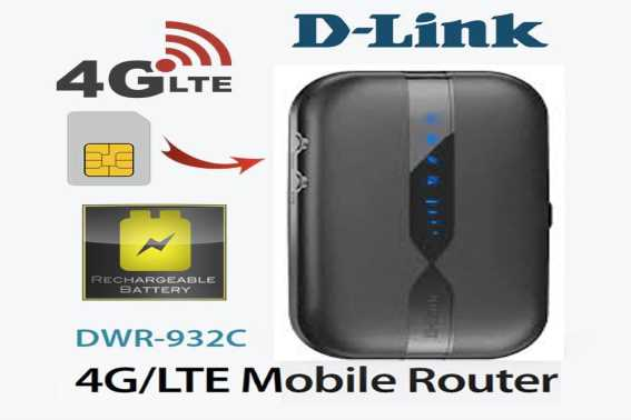 Modem Wifi Terbaik D-Link 4G LTE Mobile Router