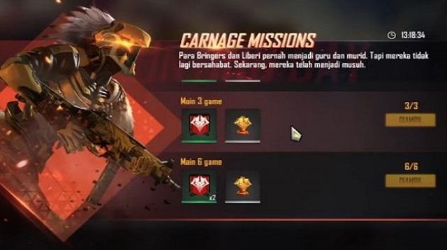 Cara Mendapatkan Token Rampage Free Fire