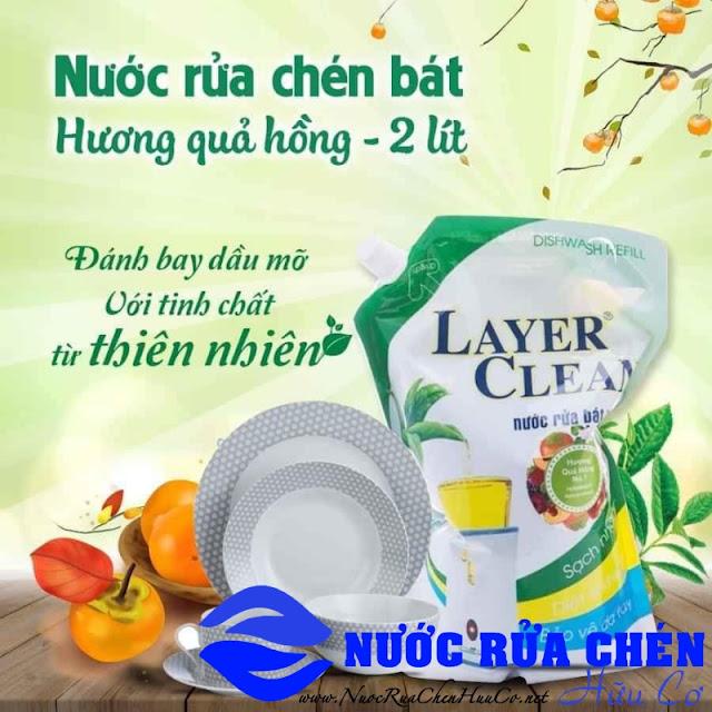 Nước rửa chén Layer Clean