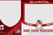 10 Download Twibbon Hari Lahir Pancasila 2021