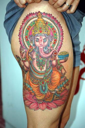 O Mandalian elefante