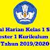 Jurnal Harian Kelas 1 SD/MI Semester 1 Kurikulum 2013 Tahun 2019/2020 - Homesdku