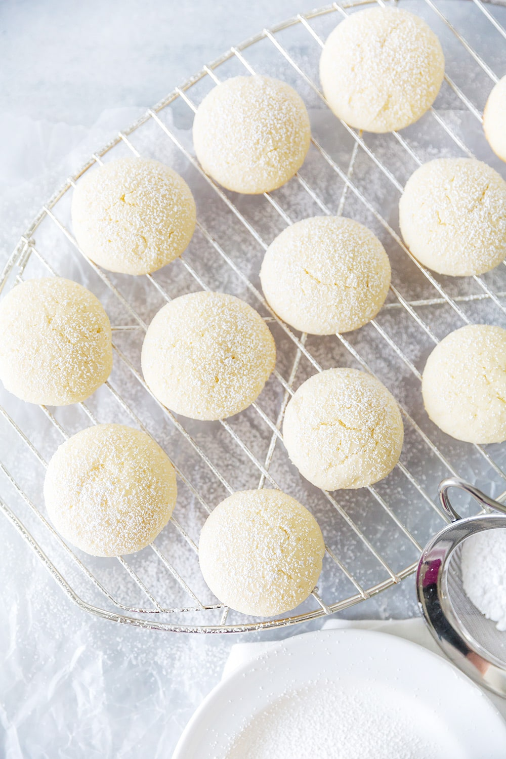 Pillow Soft Cream Cheese Cookies