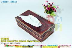 Kotak Tempat Tisu Pelepah Pisang Warna