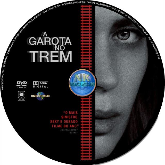 Label DVD A Garota No Trem