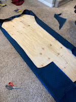 Stretching the speed cloth