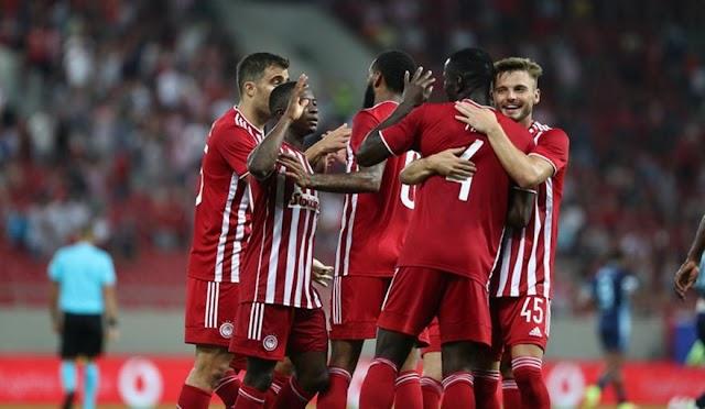 """Ολυμπιακός-Σλόβαν Μπρατισλάβας 3-0: Τριάρα και πάει Σλοβακία...για να """"σφραγίσει"""" το εισιτήριο του Europa League"""