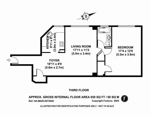 One Bedroom Apartment Floor Plans