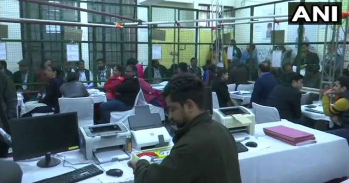 Delhi Assembly Election Counting of votes was halted in three constituencies,www.thekeralatimes.com