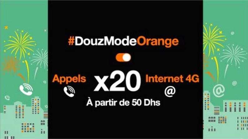 recharge x20 orange maroc