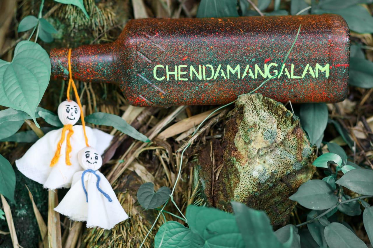 Chendamangalam, chekutty bottle art