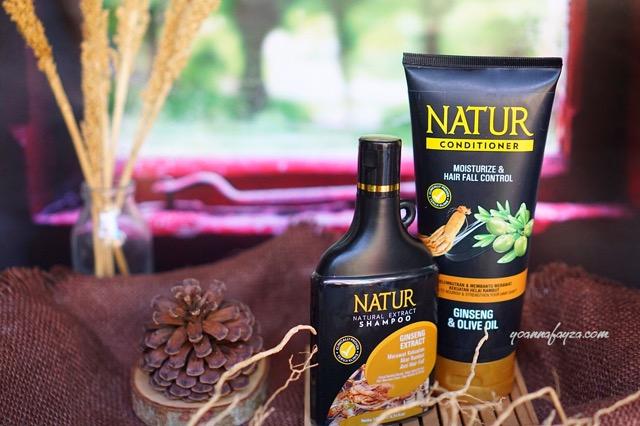 natur hair care perawatan untuk rambut rontok