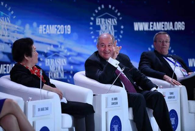 Armenia puente de cooperación entre Eurasia y la UE