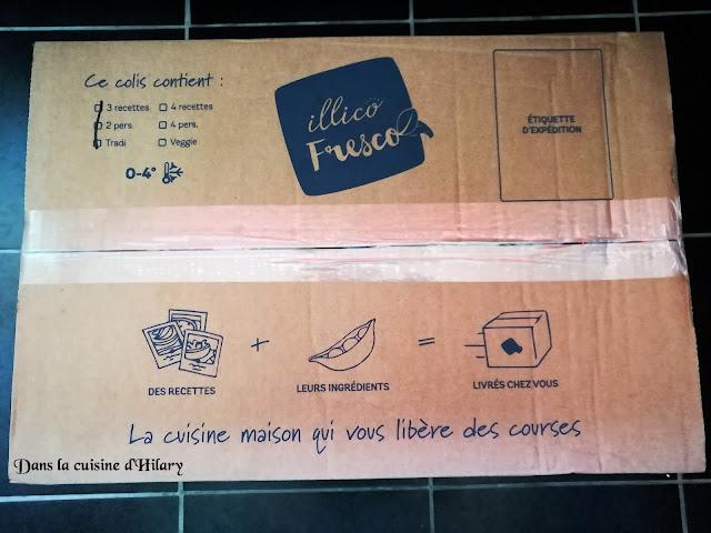 Illico-Fresco - Dans la cuisine d'Hilary