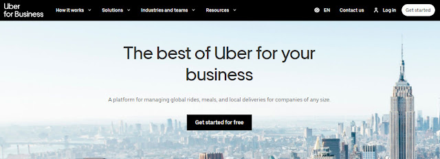 business uber account