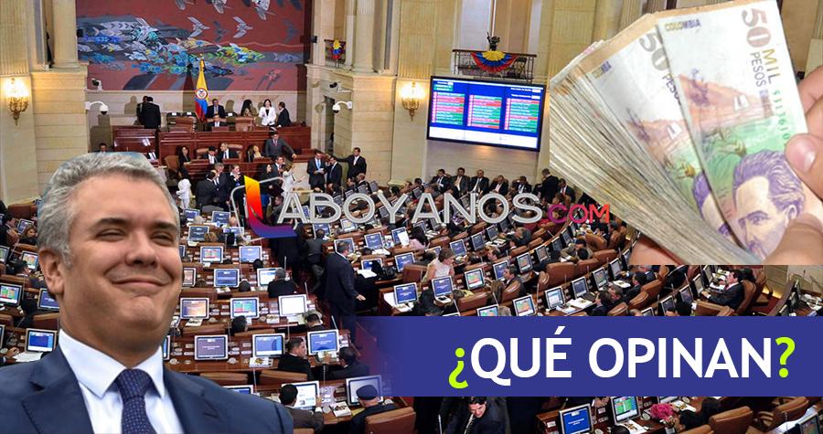Congresistas del Centro Democrático no recibirán aumento de salario: Uribe