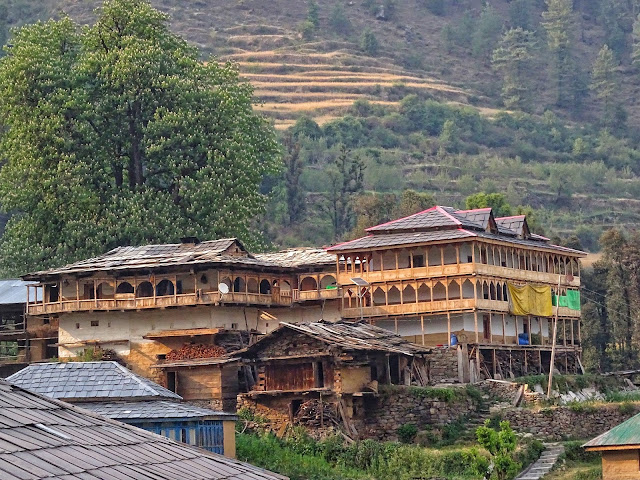Jamala Village - traditional Himachali village