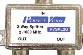 Splitter VHF, UHF
