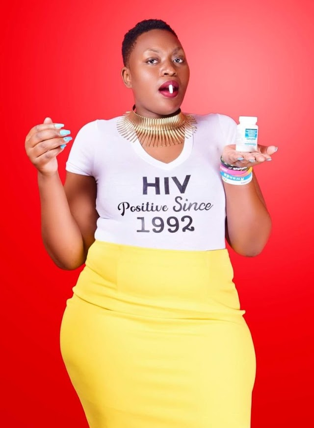 Lady Celebrates 28 Years Of Living With HIV (Photos)