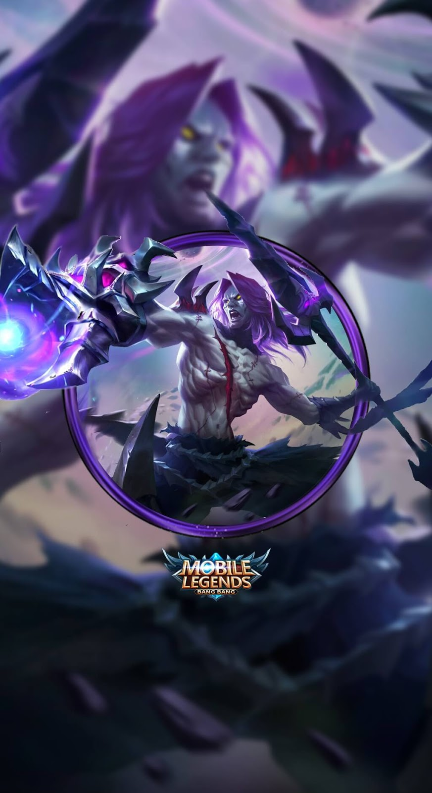 Wallpaper Moskov Spear of Quiescence Skin Mobile Legends HD for Android and iOS
